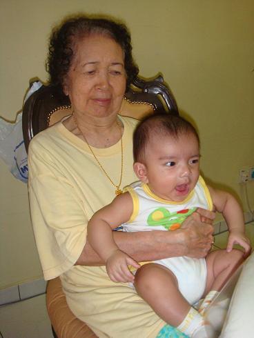 Aniq and the Great Grandma