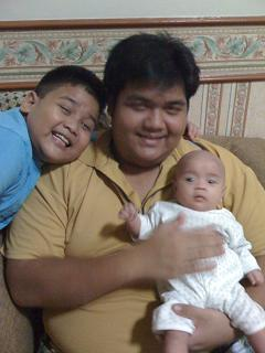 With Uncle Nabil and Uncle Mikail