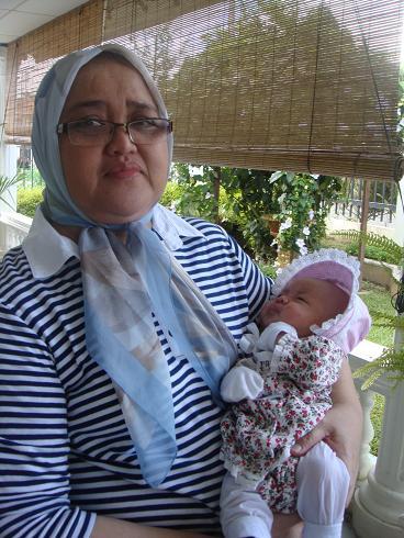 Meena with Nenek