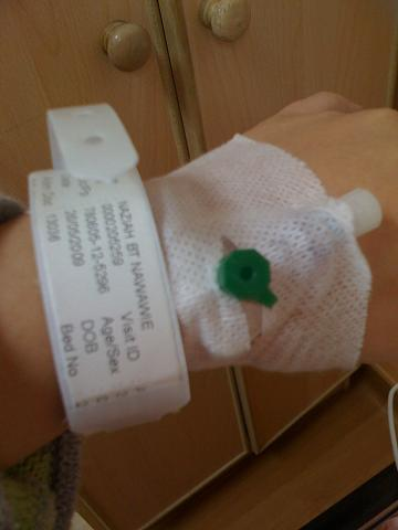 I hate those IV drip thingy...